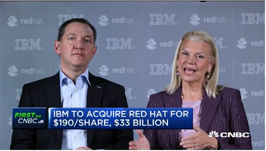 IBM to acquire Red Hat in deal valued at $34 billion
