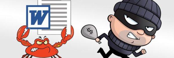 GandCrab ransomware and Ursnif virus spreading via MS Word macros