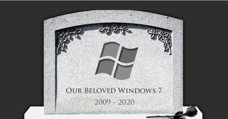 Read more about the article Microsoft to end support for Windows 7 in 1-year from today